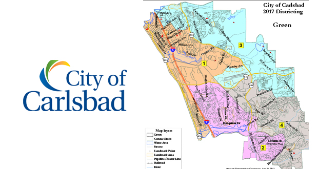 City of Carlsbad Draft Maps for District Elections are Ready for