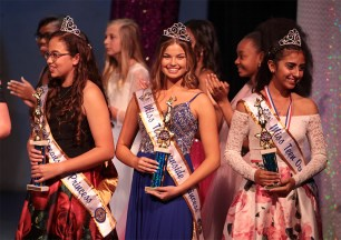 Miss Teen Oceanside Princesses: Marlie Wright, Kassidy Betz and Jiselle Banuelos