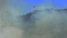 O incendio de Seadur (Larouco), extinguido