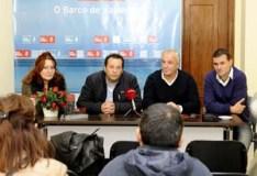 Parlamentarios autonómicos e provinciais do PSdeG-PSOE visitan o pobo vilamartinés de San Vicente