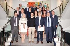 A nova xunta directiva do Colexio Médico de Ourense toma posesión