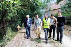Visita ao Barbaña, no Día do Medio Ambiente