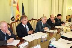 Reunión da Comisión Provincial de Coordinación Policial de Loita contra os incendios forestais