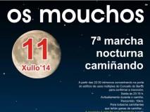 """Ruta nocturna """"Os Mouchos"""", no Barco"""