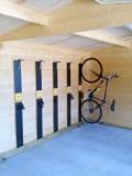 Instalacións para ciclistas no Hotel Monumento Pazo do Castro