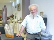 """A escultura de Cochorro en """"Cen anos de arte galega. Grandes mestres"""""""