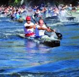 Proba de alto nivel e festa no río
