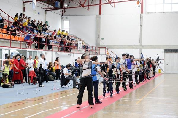Participantes na IX Tirada ArcoBarco Sala.
