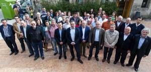 O PP presenta aos seus cabezas de lista pola comarca do Carballiño