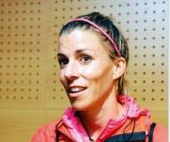 A atleta Eva Arias volta ao Adas
