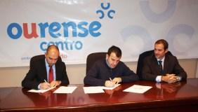 Convenio entre o CCA Ourense Centro e Generali Seguros