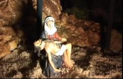 As esceas da paixón de Cristo, a pequena escala en Maceda