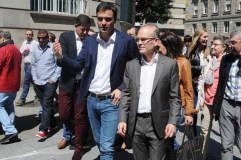 Apoio de Pedro Sánchez á candidatura do PSdeG en Ourense