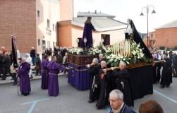 A procesión do Encontro abre o Venres Santo no Barco
