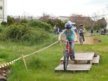 Circuíto de bicis para todas as idades, en Trives