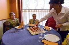 A valdeorresa Antonia López celebra o seu centenario