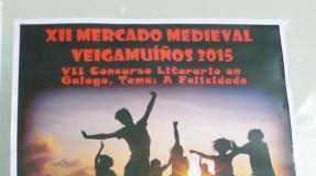 Convócase o VII Concurso Literario do Mercado Medieval de Veigamuíños