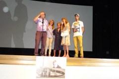 """Emotiva homenaxe a """"Pestana"""" na apertura da XXV Semana de Cine do Barco"""