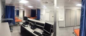 Nova sala de diagnóstico e tratamento nas Urxencias do CHUO
