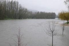As fortes chuvias fan medrar o Sil