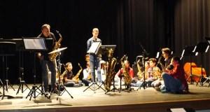 Concerto de Sax-Voyage, Cía Berciana de saxofóns no Barco