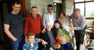 Nova centenaria en Sober