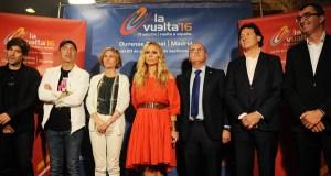 """Presentación do anuncio da """"Volta Ciclista a España"""", en Ourense"""