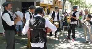 O son tradicional de Pándega, na XIX Feira do Viño de Valdeorras