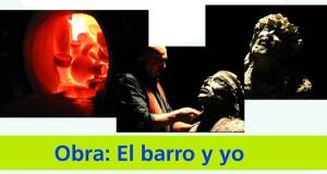 Espectáculo de barro con Carlos Moreyra no Barco
