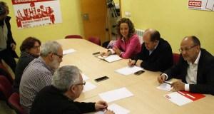Os socialistas comezan unha serie de encontros con colectivos sociais e empresariais
