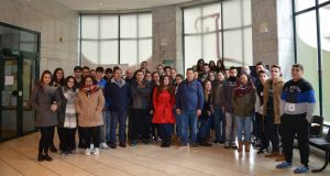 Os alumnos dos centros de Vilamarín e Manuel Antonio de Vigo visitaron o territorio da D.O. Monterrei