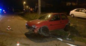 Un condutor portugués fuxe da Guardia Civil, á altura da raia, e foi detido tras saírse da vía en Chaves