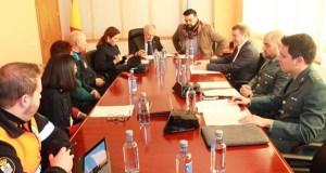 A Xunta Local de Seguridade de Verín aborda o dispositivo do Entroido