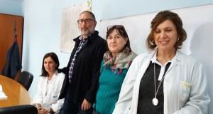 Peche da Xunta de Persoal no despacho do xerente do hospital valdeorrés