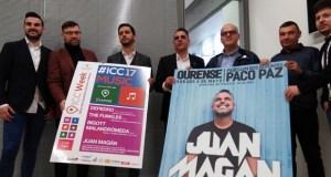 Juan Magán será o prato forte dos concertos da ICCWeek en Ourense
