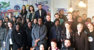 Visita de alumnos británicos a empresas ourensás