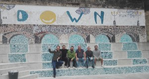 Un mosaico con pegada valdeorresa para celebrar o Día Mundial da Síndrome de Down en Pontevedra