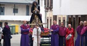 A procesión do Encontro abre os actos do Xoves Santo en Santo Estevo (A Rúa)