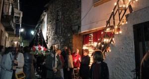 A procesión dos caracois percorre as rúas de Petín