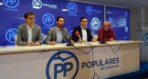 Os PP de Ourense pedirá no Parlamento de Galicia axudas aos viticultores afectados