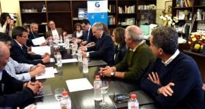 O conselleiro de Economía reúnese co sector da lousa en Sobradelo