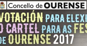 As votacións para elixir o cartel das Festas de Ourense xa están abertas