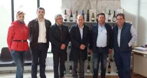 Leiceaga visita a D.O. Monterrei para coñecer a situación do viñedo