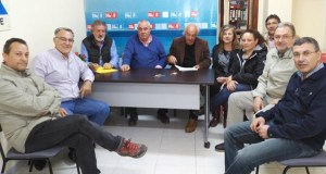 Os alcaldes socialistas de Valdeorras pedirán a declaración de zona de emerxencias tras as xeadas e a pedra