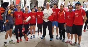 O equipo feminino do Adas proclámase subcampión de España nos 10 km en ruta