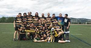 O Auriense FG ascende a primeira división