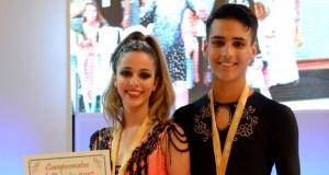 Os ourensáns que conquistaron o Campionato de España de Salsa Cuban Style