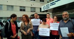 """SOS Sanidade Pública denunciará ante a Fiscalía o """"desmantelamento"""" da Cirurxía Pediátrica no CHUO"""