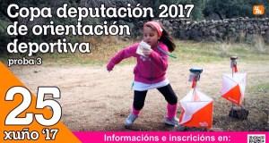 Terceira proba da Copa Deputación 2017 de orientación deportiva, este domingo en Cenlle