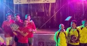 O equipo masculino do Adas, subcampión de España en carreiras de montaña
